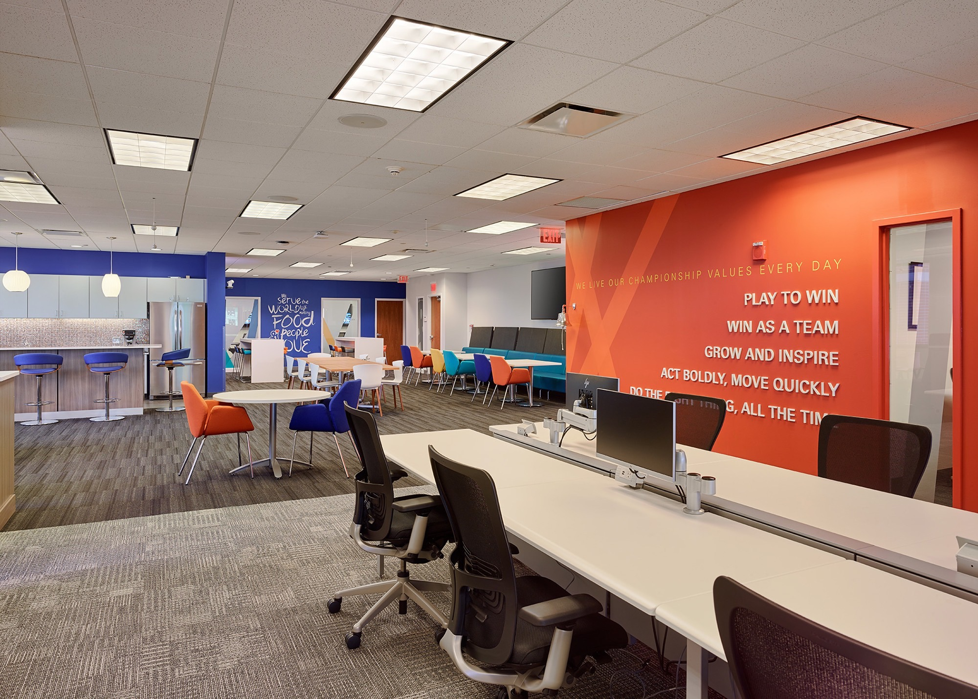 General Mills Group Work Area a