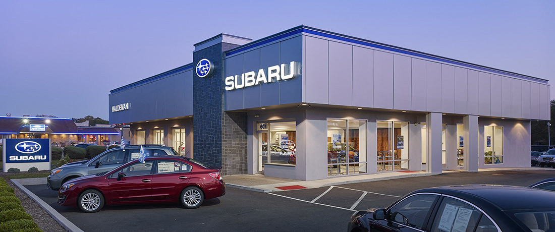 Interior and Exterior Renovation of Car Dealership